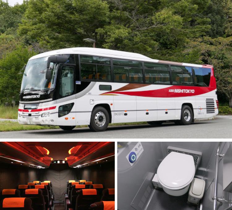 大型バス(トイレ付)