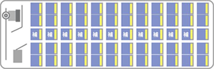 車内座席図