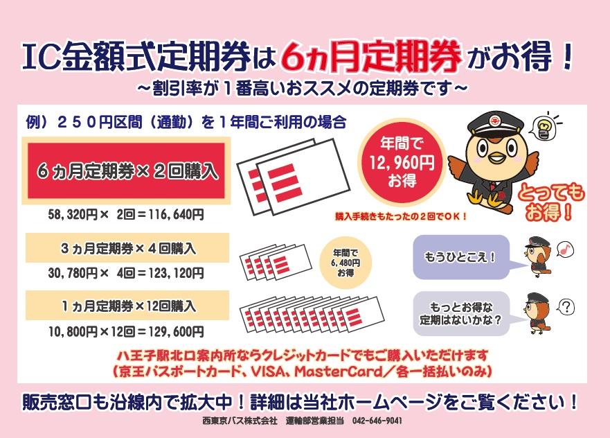 値段 バス 定期 券